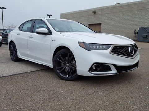 2020 Acura TLX V-6 with A-Spec Package and Red Interior